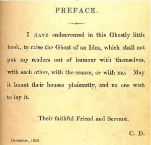 Wonderful Preface. Charles Dickens - A Christmas Carol
