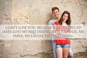 lost friendship quotes can not lose you love quotes love quotes for ...