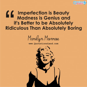 Marilyn Monroe Quotes Imperfection Facebook Cover Most Inspirational ...