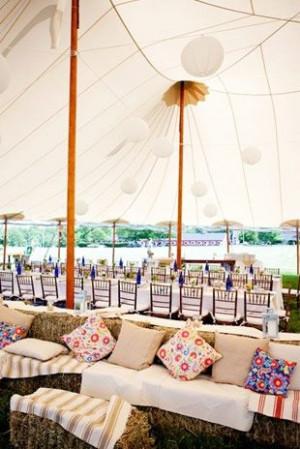 -style-wedding-ideas/ Haybal, Dance Floors, Hay Bale Seats, Seats ...