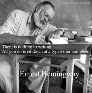 Ernest Hemingway Quotes