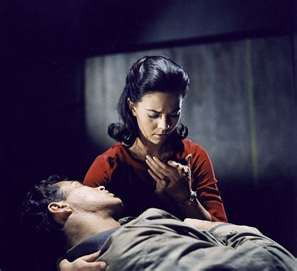 West Side Story - Maria holds Tony in her arms as he dies
