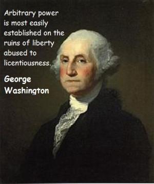 George Washington quote #1