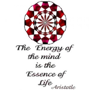 Essence of Life* -Aristotle Quote by MidnightDreamer