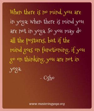 Best Yoga Quotes of Osho | Yoga and Meditation