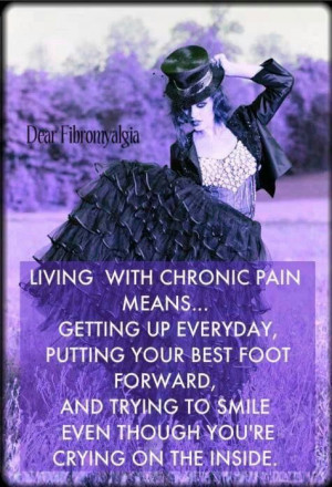 living with chronic pain   Quotes