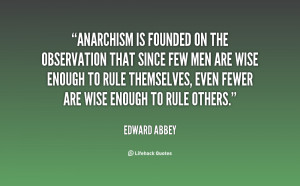 ANARCHISM QUOTES