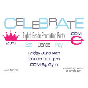 Home | Shop | 8th Grade Promotion | 8th Grade Promotion Party