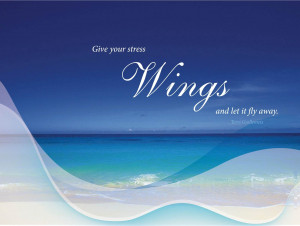 Quotes-Wings motivational wallpaper