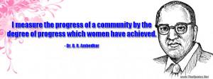 Dr. B. R. Ambedkar Quotes