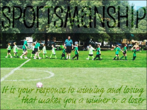 2013 will be the year of good sportsmanship