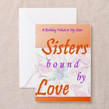 Sisters Sentimental Greeting Card for