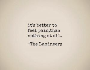 Stubborn Love- The Lumineers