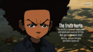 Huey Freeman - The Boondocks wallpaper 1366x768