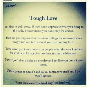 tough love quotes for teenagers quotesgram
