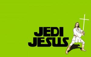 Jedi Jesus Funny Wallpaper Desktop Wallpaper with 1680x1050 Resolution