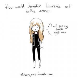 Description: Jennifer Lawrence Cartoon | via Facebook