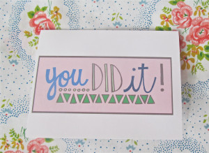Congrats You Did It Quotes You did it, congratulations,