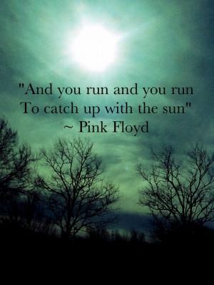 Pink Floyd   Time #lyrics