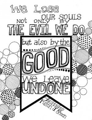 Check out more FJS quote coloring pages here .