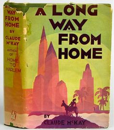 ... Long Way from Home, 1937. Jacket illustrated by Aaron Douglas. More