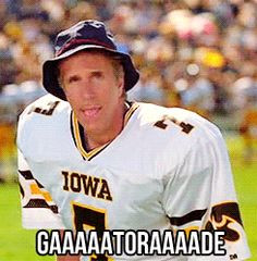 The Waterboy..... and the Iowa Hawkeyes. :) More