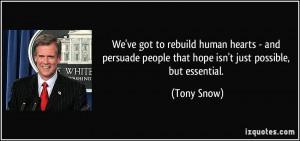 More Tony Snow Quotes