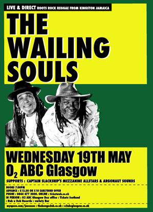 The Wailing Souls Live San