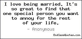 Love Being Married Quotes