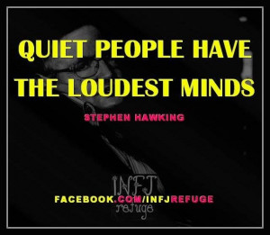 INFJs & THEIR QUOTES: STEPHEN HAWKING FOR MORE CELEBRITY QUOTES ...