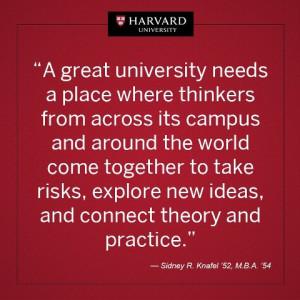 Harvard Quotes