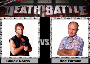 Chuck Norris Red Forman Death