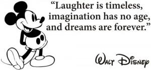 Mickey Mouse Walt Disney Quote Die-Cut Decal Car Window Wall Bumper ...