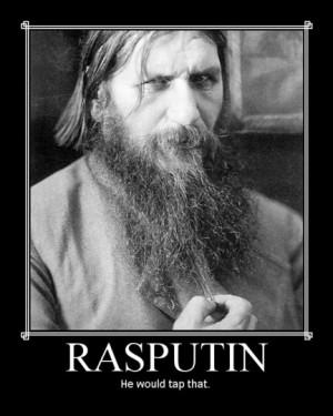 Tsarina Alexandra And Rasputin That rasputin might have