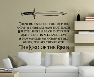lord of the ring quotes wall quotes the lord of the rings quotes ...