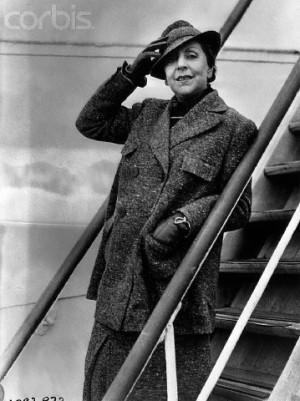 Vicki Baum nel novembre del 1936