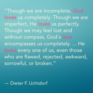 Quote from Elder Uchdorft