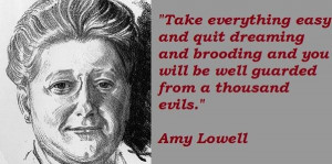 Amy lowell famous quotes 2