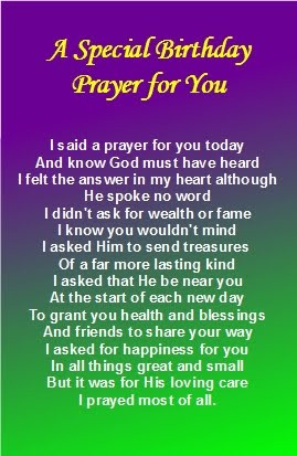 templates for happy birthdays a special birthday prayer for you