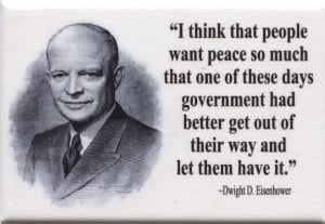 FM041 - Dwight D Eisenhower Quote