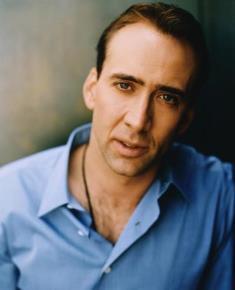 Nicolas Cage - (born Nicolas Kim Coppola) American actor and producer ...