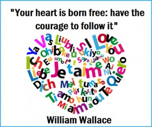 William Wallace Quote [love it!] choose FREEDOM! :)