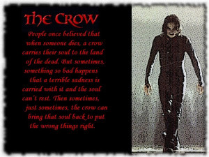 the crow love quotes