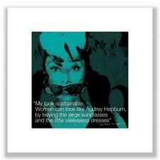 poster quote audrey hepburn $ 12 87 buy it now free shipping poster ...