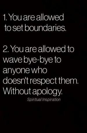 love this! #respect#boundaries