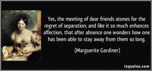 Friend Separation Quotes