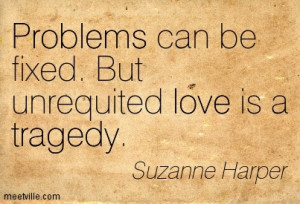 Unrequited Love Is Tragedy