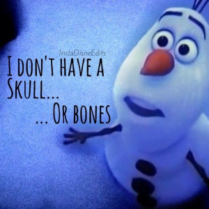 olaf the snowman quotes tumblr