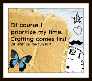 Craft time! :) SO glad this is my new