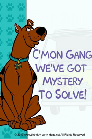 Mystery Incorporated Scooby Doo Birthday Party #Scooby Doo #Mystery # ...